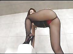 High Heels sexy videos - eating asian ass